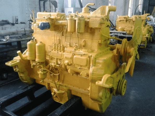 Двигатель гусеничного трактора Т-130