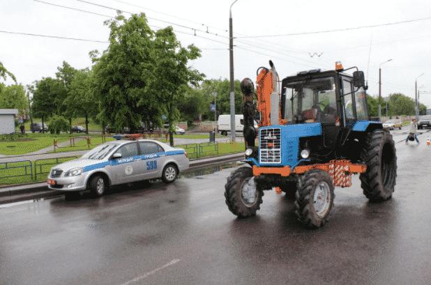 Если лишили водительских прав, можно ли ездить на тракторе
