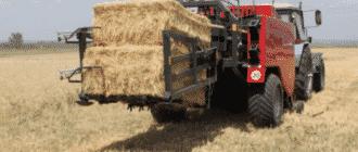 Фото тюковых пресс подборщиков для сена