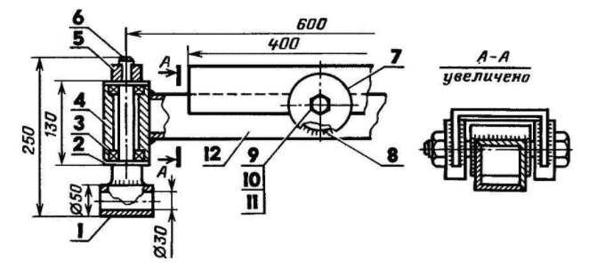 Как обрезать передний мост ВАЗ для минитрактора