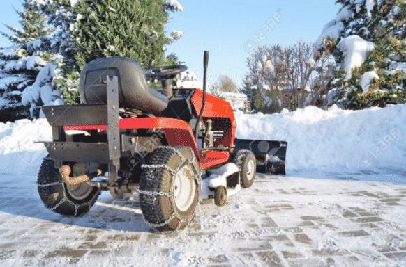Как зимой завести трактор