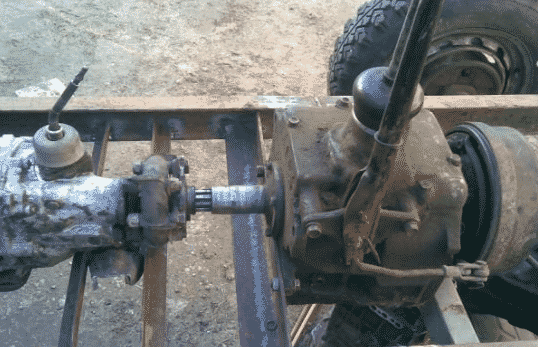 Каробка передач трактора на базе автомобиля ГАЗ