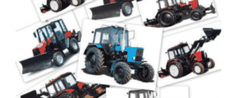 Классификация тракторов