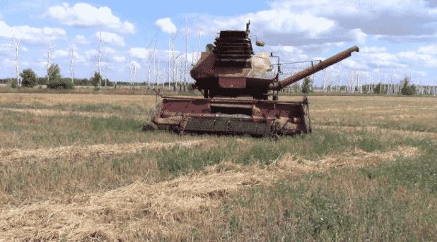 Комбайн Колос СК-6