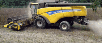 Комбайн «New Holland» CX8080
