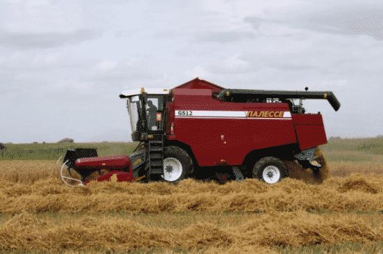 Комбайн зерноуборочный Палессе GS-12