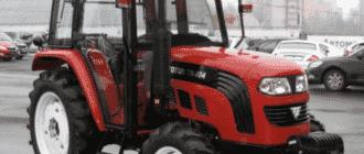 Минитрактор Foton TB 404 4WD
