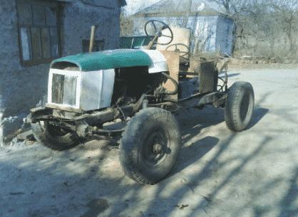 Минитрактор из УАЗа