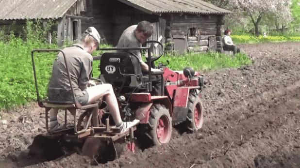 Модельный ряд мини-тракторов МТЗ