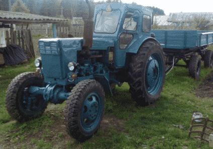 Модификаций трактора Т-40