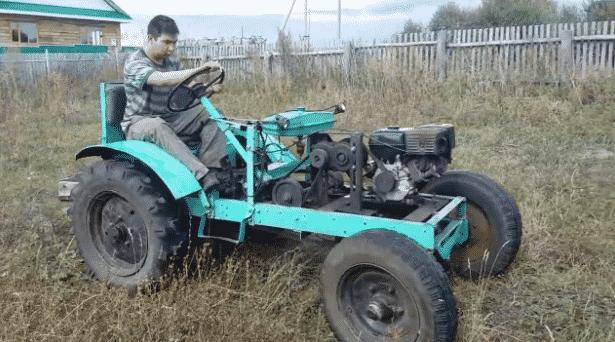 Можно ли ездить на самодельном тракторе