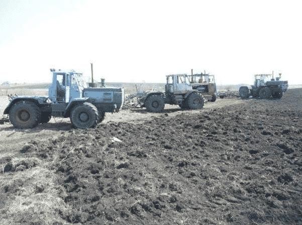 Области применения тракторов Т-150 и Т-150К