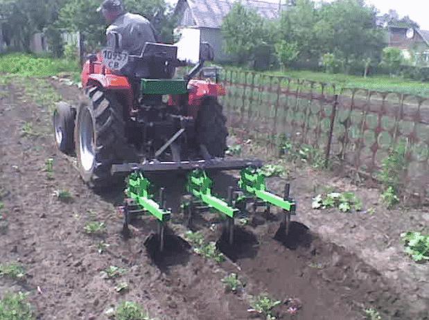Окучники для картофеля к трактору