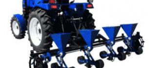 Основные виды сеялок для минитракторов