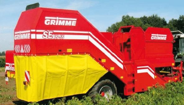 Особенности комбайнов Grimme