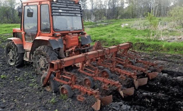 Особенности применения трактора К 20