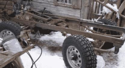Порядок сборки трактора своими руками из УАЗа