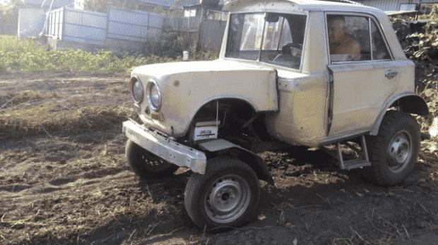 Преимущества переделки Жигулей в трактор