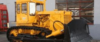 Рабочее оборудование трактора Т-130