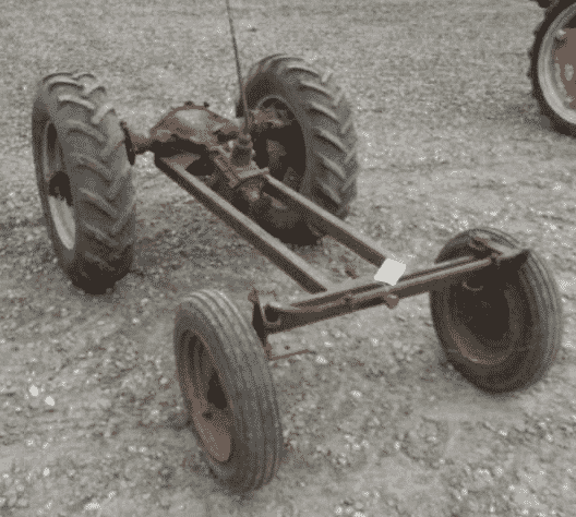 Рама для трактора на базе автомобиля ГАЗ