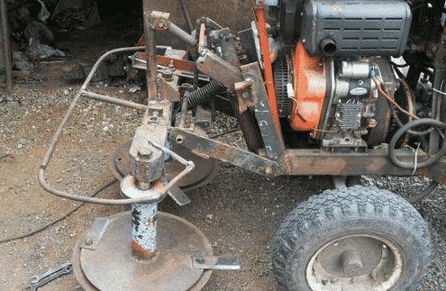 Роторная косилка для минитрактора своими руками