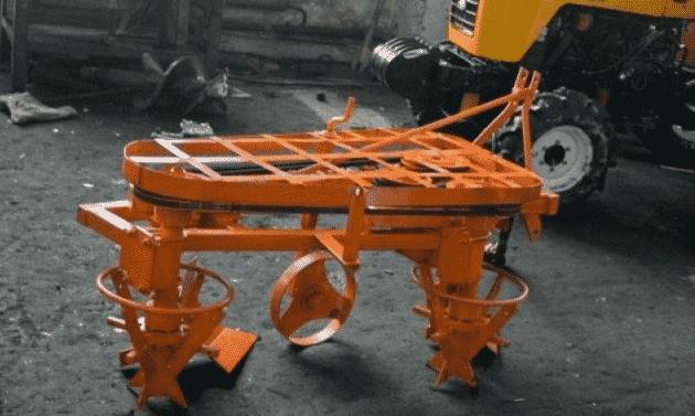 Роторные плуги для тракторов