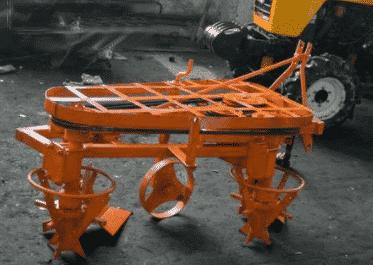 Роторный плуг для минитрактора