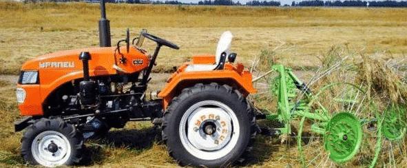 Садовый трактор «Уралец» 220