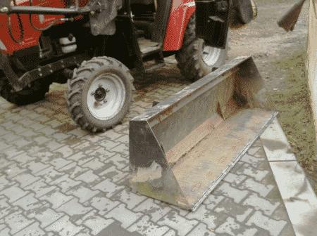 Самодельный ковш для трактора