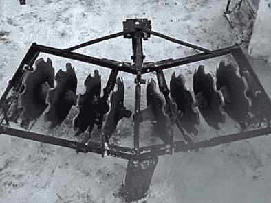 Самостоятельно изготовления дисковой бороны для минитрактора