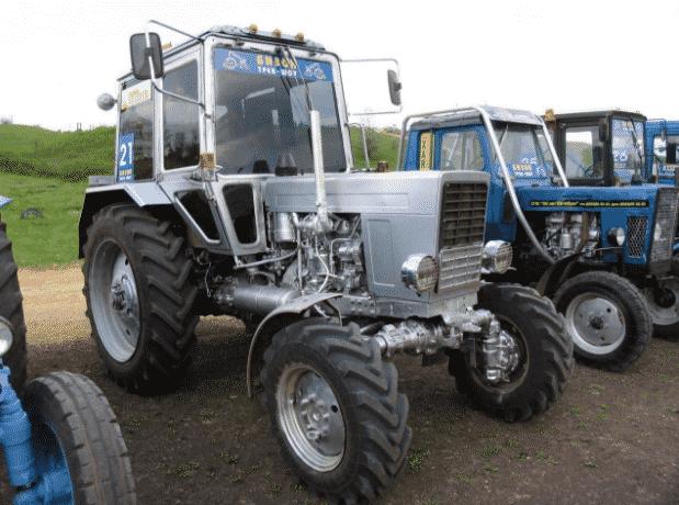 Самостоятельный тюнинг трактора МТЗ-82