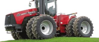 Самый мощный в мире трактор