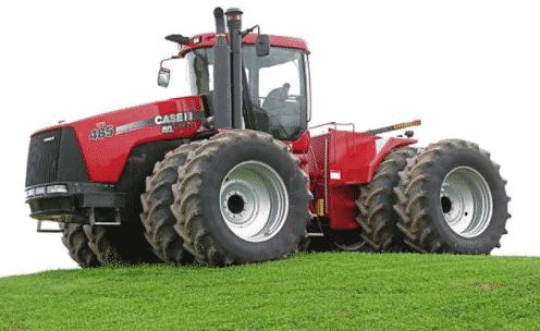 Самый мощный в мире трактор Case Steiger 600 (колесный) и Qudtrac 600 (гусеничный)