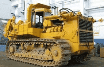 Самым большим в Европе считается челябинский трактор Т-800