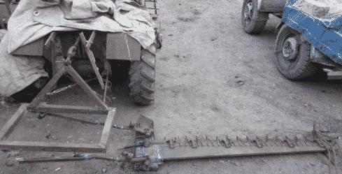 Сегментная косилка для минитрактора своими руками
