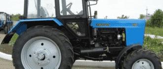 Технические характеристики трактора МТЗ-82