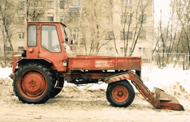 Технические характеристики трактора Т 16