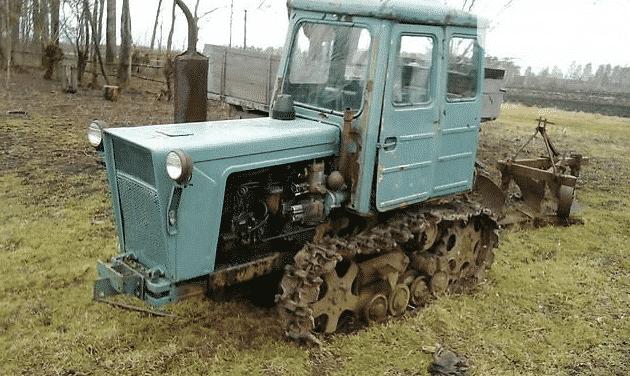 Трактор Болгар Т 54
