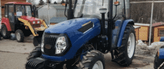 Трактор Чувашпиллер 804