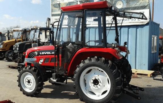 Трактор Фотон 454