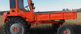 Трактор Т-16 («шассик»)