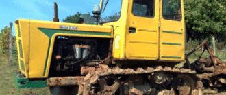 Трактор Т-54