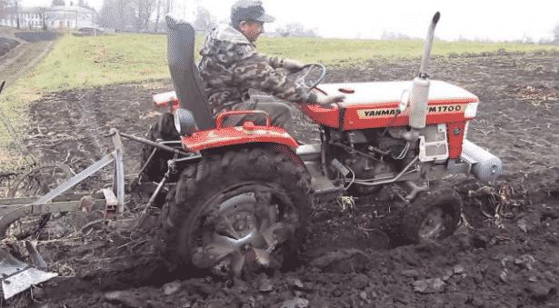 Трактор Yanmar 1700