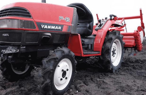 Трактор Yanmar F6