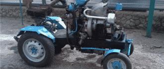 Трактор из Оки