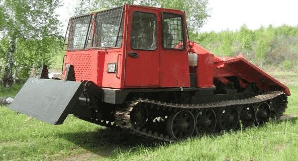 Трактор-лесовоз марки ТТ-4
