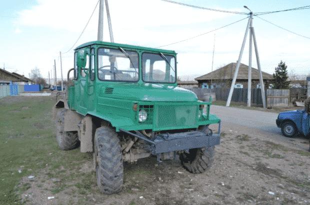 Трактор на базе автомобиля ГАЗ