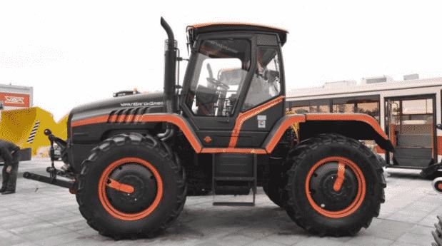 Устройство трактора РТ-М-160