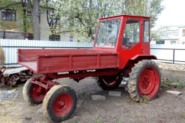 Устройство трактора Т 16