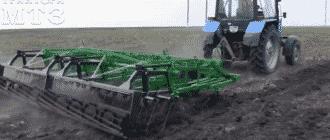 Виды культиваторов для тракторов